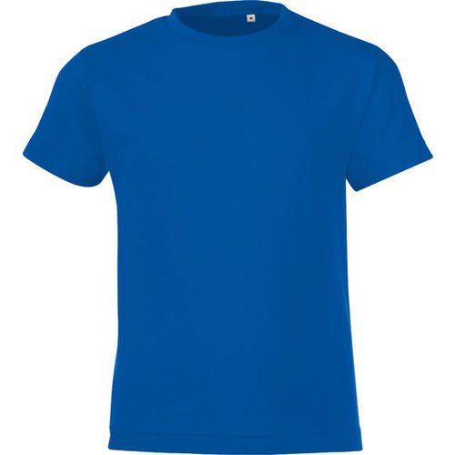 Tee-shirt kids Bleu Royal