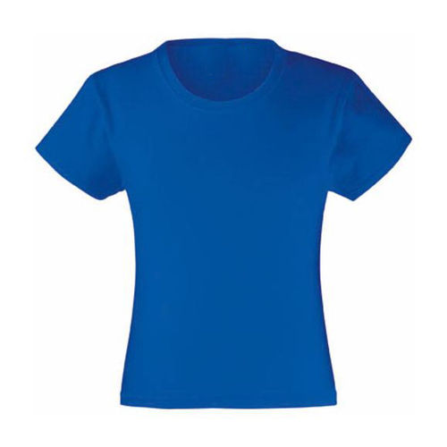 Tee-shirt Fille Bleu royal